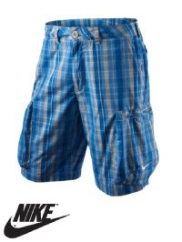 Men's Nike 'Challenge' Plaid Woven Cargo Short (465137-073) x4: £9.50